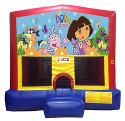 dora the explorer moonwalk bounce