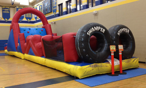 Inflatable Swamper Stomper Obstacle Course