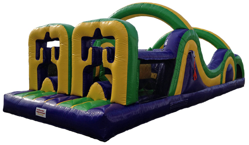 Inflatable Dual Dash Obstacle Course