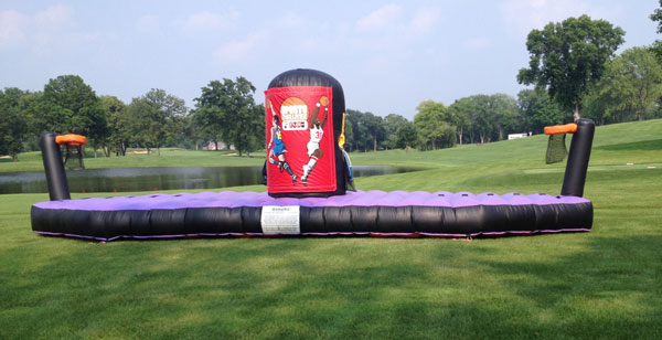 bungee challenge inflatable